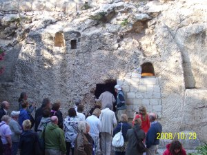 Entering into the Empty Tomb
